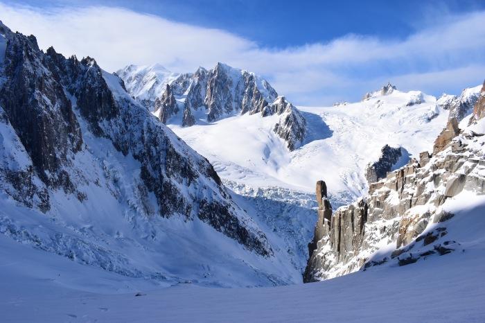 col du tacul ski tour