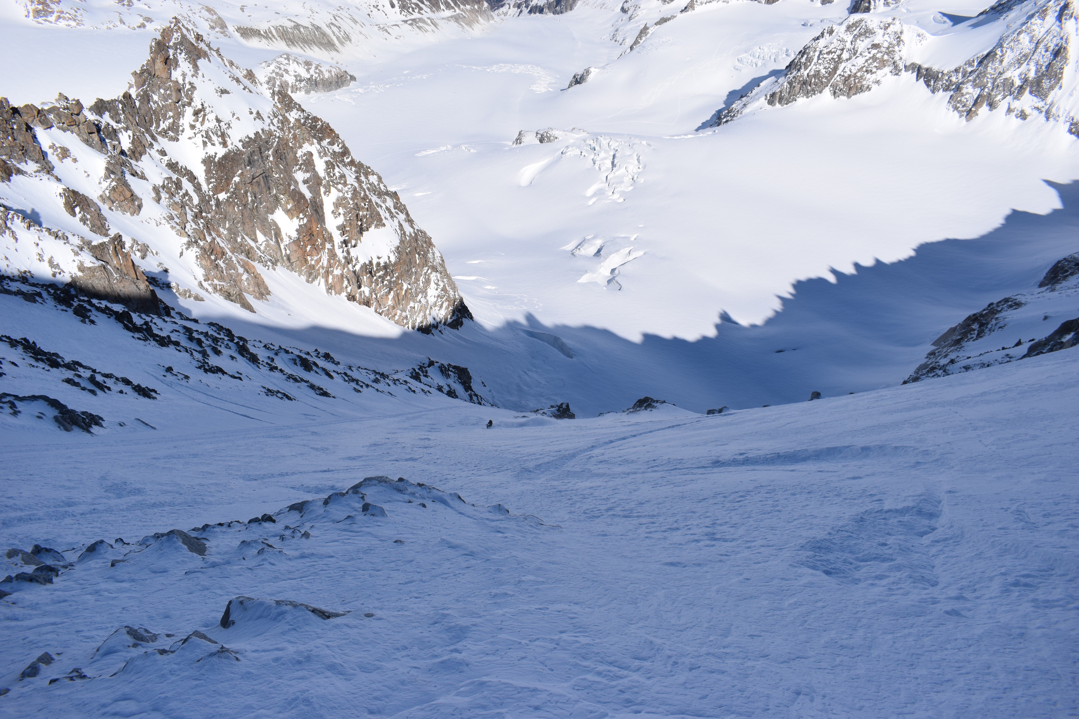 couloir barbey skiing