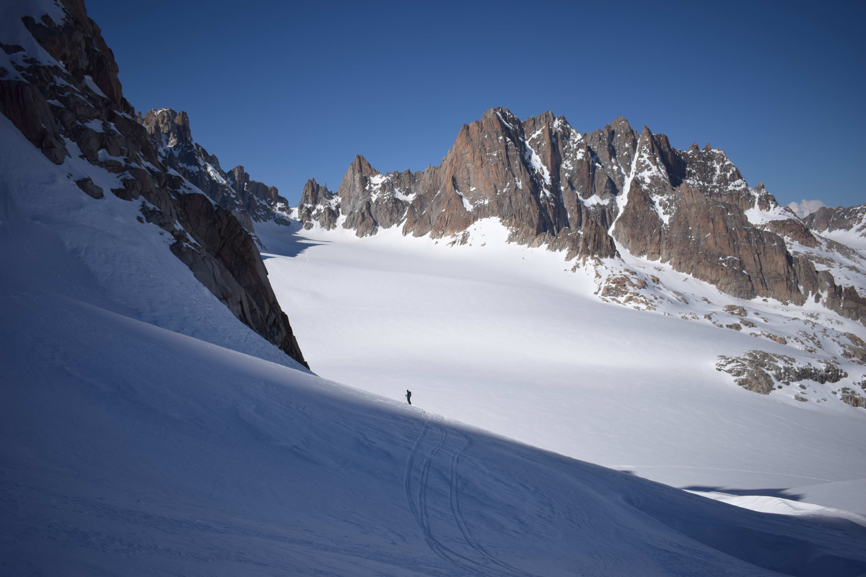 ski touring argentiere