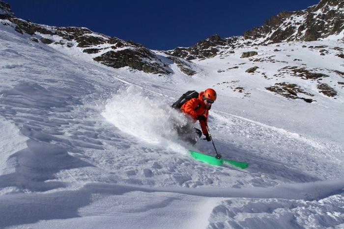 olly alkema skiing