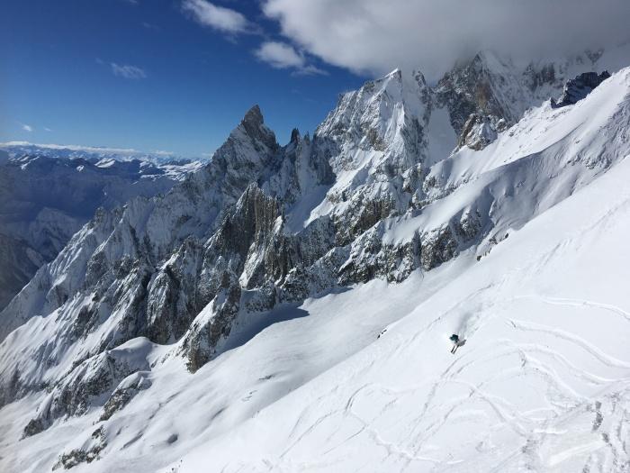 Ski helbronner