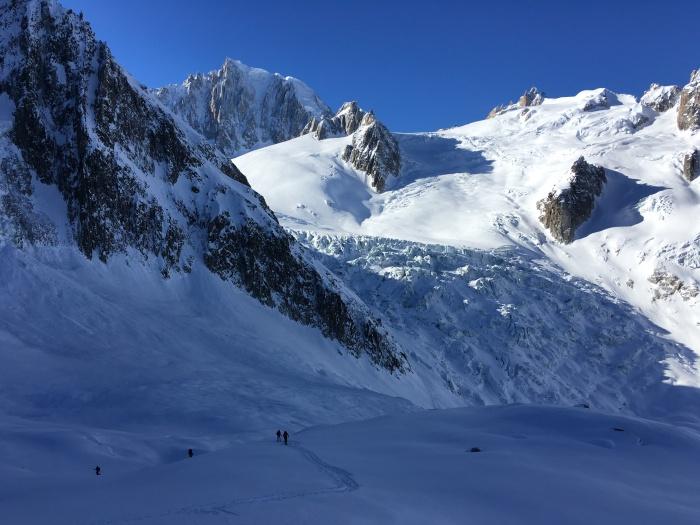 ski tour col du tacul