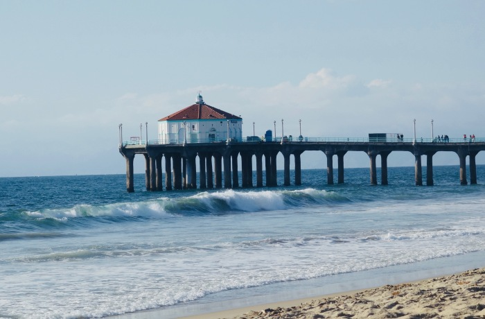 Manhattan Beach Pier Los Angeles